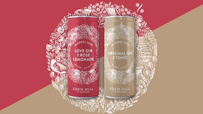 Eden Mill Releases Alcohol Free Gin & Tonics In Ready To Drink Cans