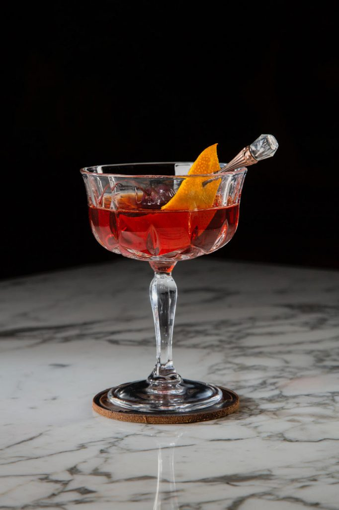 WR Champagne Cocktail