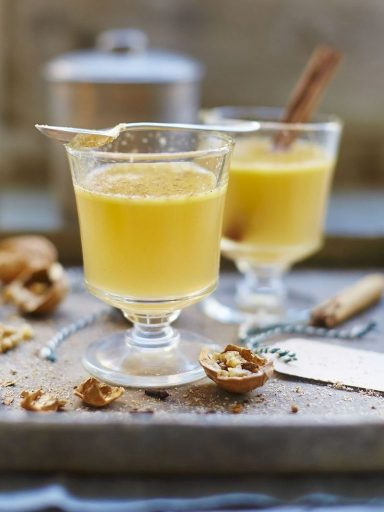 Hot Buttered Rum cocktail - Jamie Oliver