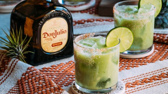 Avo-Keto Margarita with Don Julio - Lunar New Year Cocktails