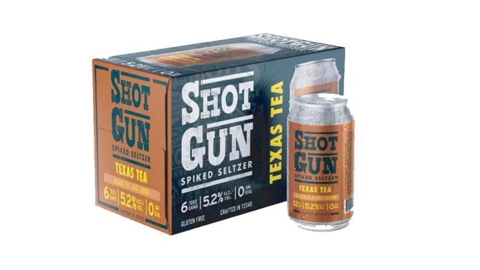 ShotGun Spiked Seltzer Texas Tea