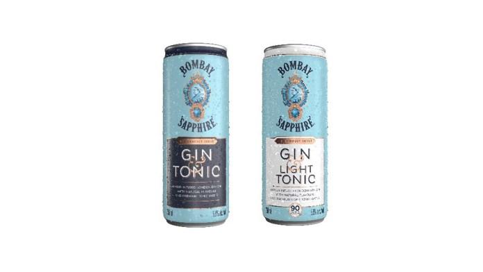 Bombay Sapphire Gin & Tonic RTDs