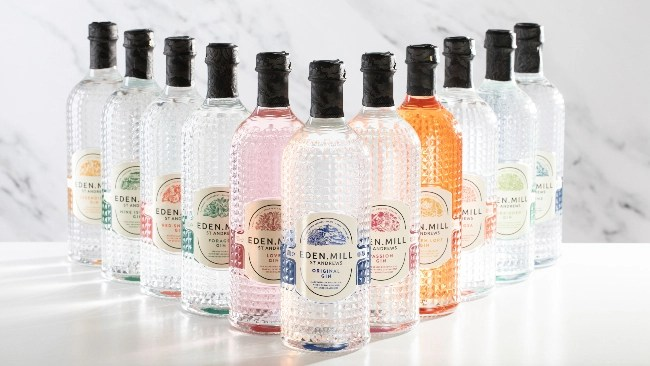 Eden Mill redesign and new gins