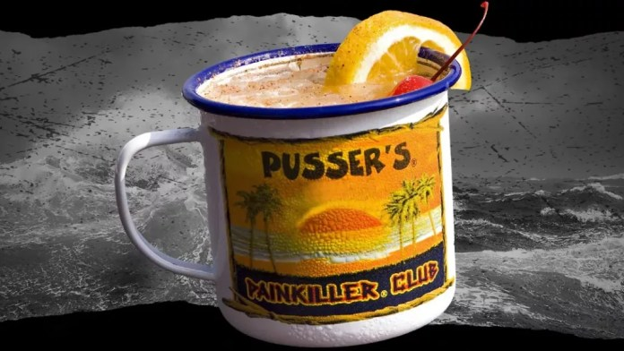 pusser's painkiller - National Rum Day cocktail