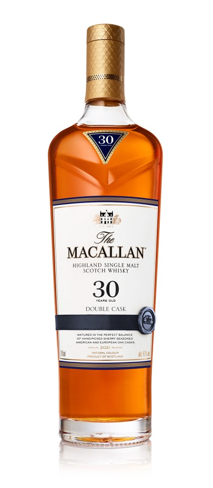 Macallan Double Cask 30 Years Old bottle