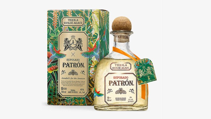 Patrón And Annabel's Create Limited Edition Bottle To Save Amazon Rainforest
