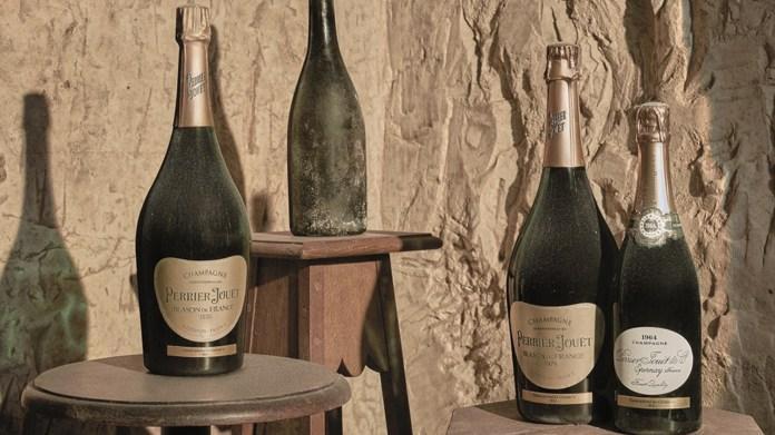 1874 Perrier-Jouët Brut Millésimé Champagne and others