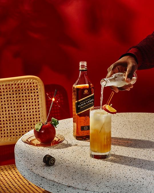 Fall Cocktails Johnnie Walker