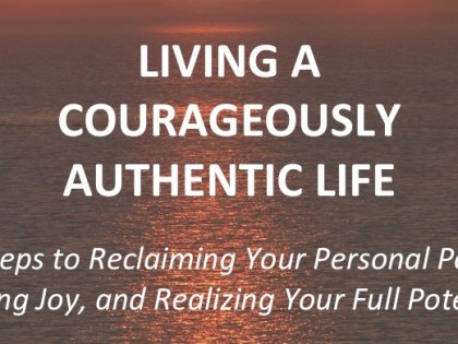 Courageously Authentic Online Course