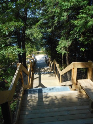 Au Sable River, Lumbermen's Monument