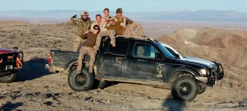 SoA Field Rep, Nicholette, and her all-female unit training in the mountains of Nevada before their deployment to Afghanistan