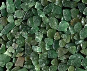green aventurine tumbled stones