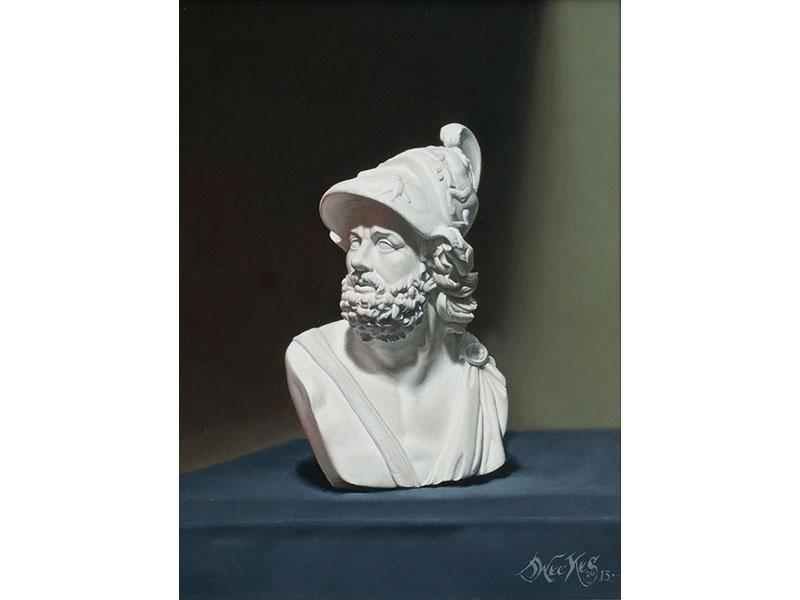 Bust of Ajax by Jeffrey Weekes