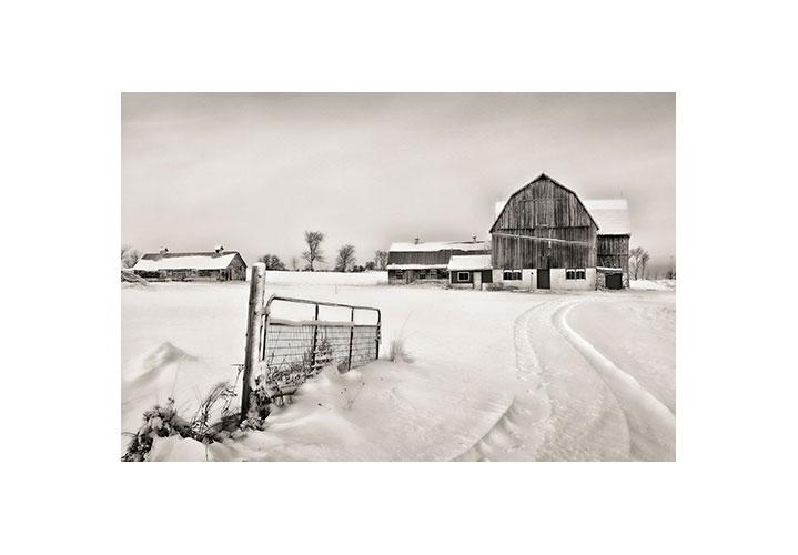 Faux Barn by Brian Tyson