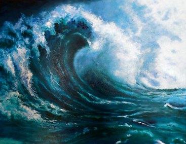 Mega Wave by Josie Korimsek