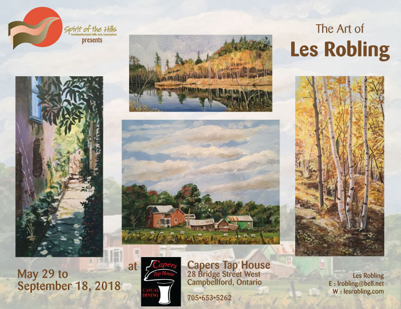 The Art of Les Robling