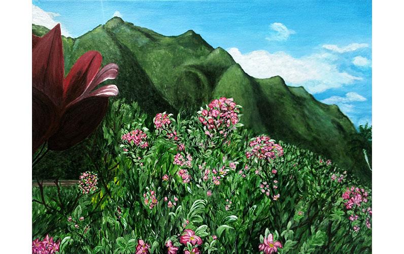 Oahu by Linda Heidt