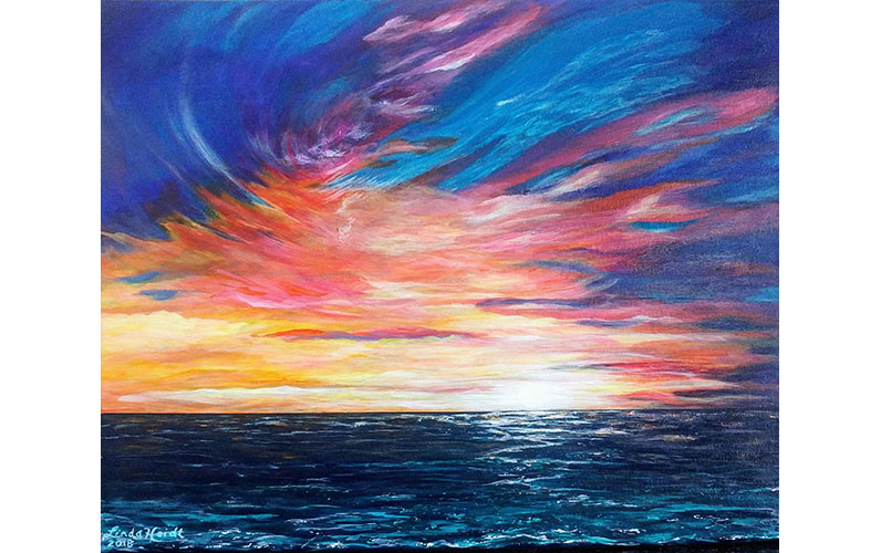 Sunblaze by Linda Heidt