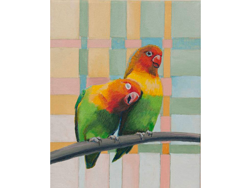 Love Always Love by Barbara Bickell 10 x 8 inches