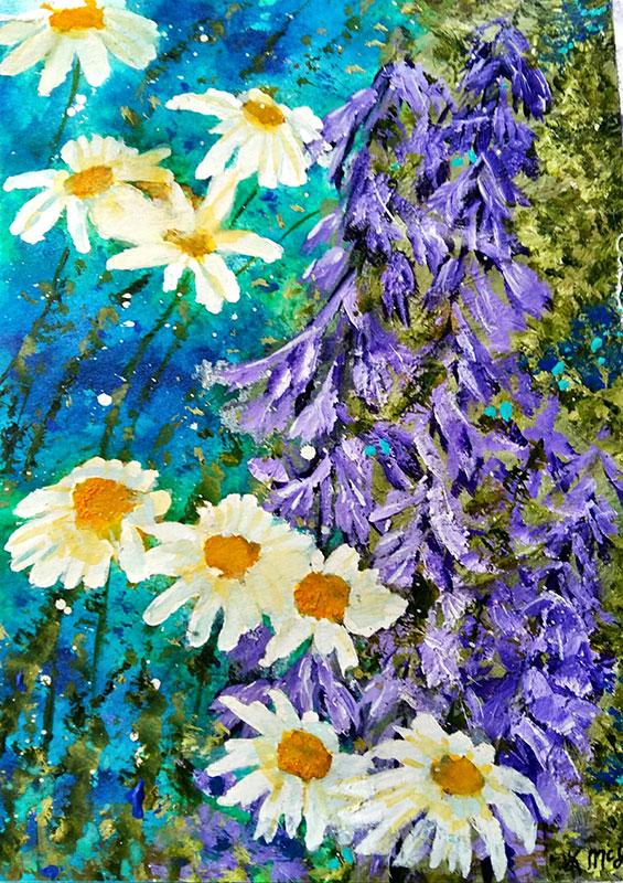 Midsummer Daisy by Lorraine McLean