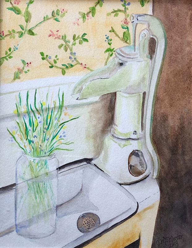Minnie's Kitchen by Joanne McMaster