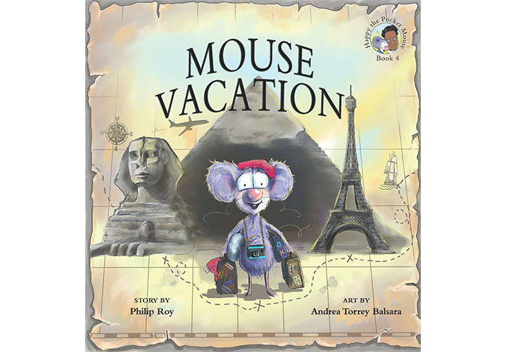 Mouse Vacation - Illustrated by by Andrea Torrey Balsara