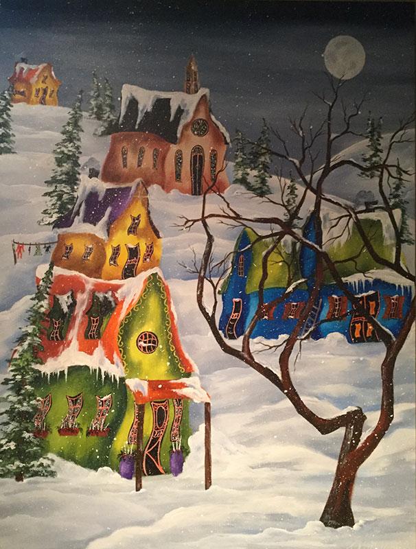 Winter Night by Jan Atkinson
