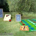 lawn games for weddings in Tuscany