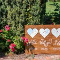 Tuscan Wedding Welcome Sign Handwritten Spirito Toscano NL 5