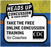 Heads Up Concussion Button