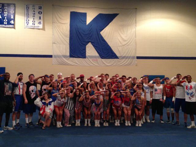 Kentucky Cheerleading 2014-15