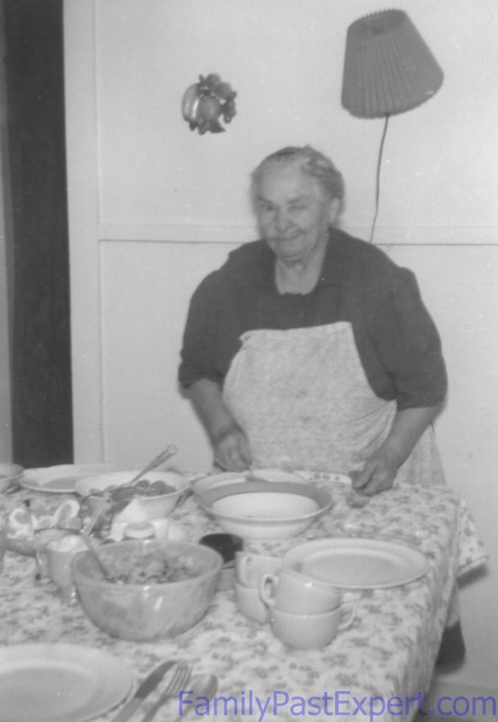 Barbara Meyer Fawcett, circa 1957.