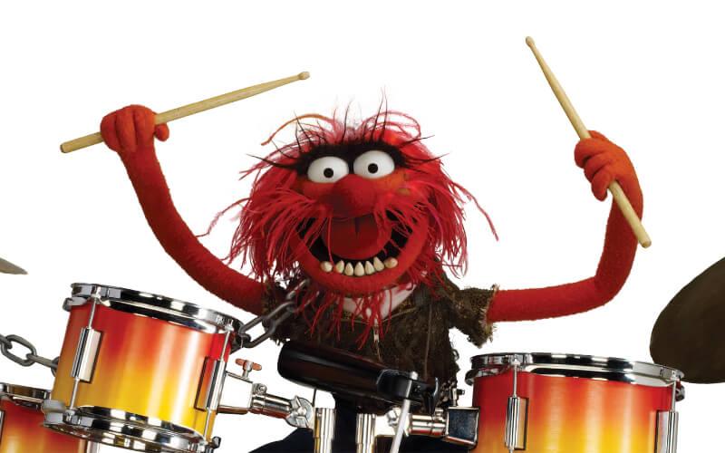 Anibal Drummer Batteur Muppet Show
