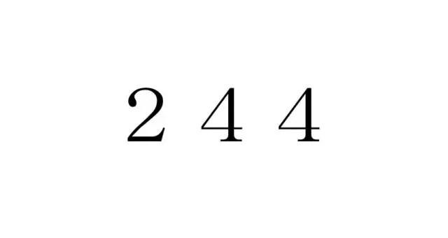 エンジェルナンバー「244」を見た時の重要な7の意味