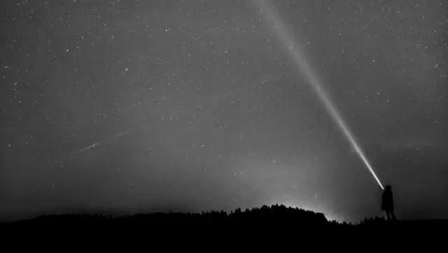 宇宙 夜空 光