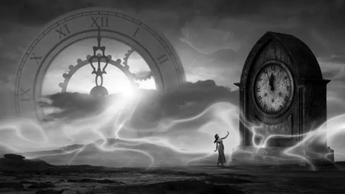 女性 神秘 時計 時間 予知能力 未来 過去