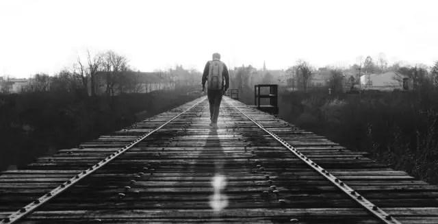 旅 人生 修行 線路 未来 男性 道