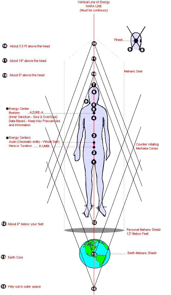 the 15 chakras