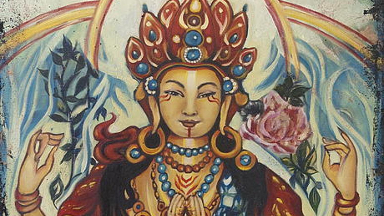 three pillars of buddhism