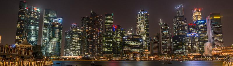 Skyline Singapure