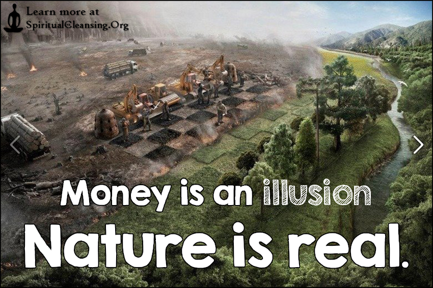 Image result for is money an illusion?