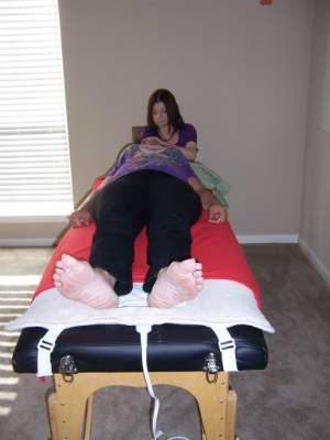 Gendai Reiki Students practicing