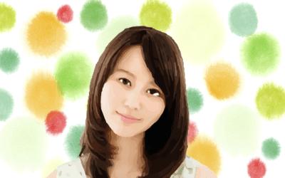 堀北真希さんのイラスト