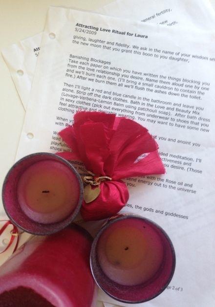 Love spell rituals
