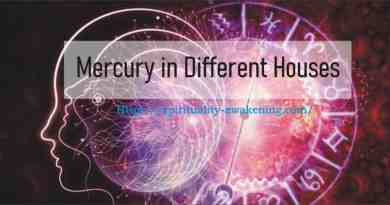 Mercury in Different Houses
