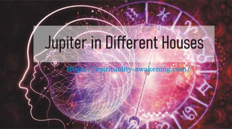 jupiter in Different Houses