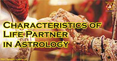 Characteristics of Life Partner in Astrology
