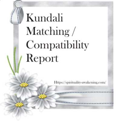 Kundali Matching and Compatibility Report
