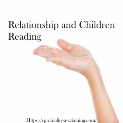Relationship and Children Reading