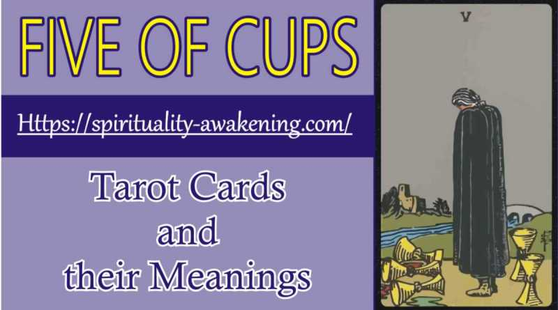 five of cups -- 5 of cups